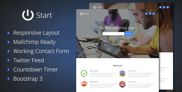 Start-Coming-Soon-Responsive-Template