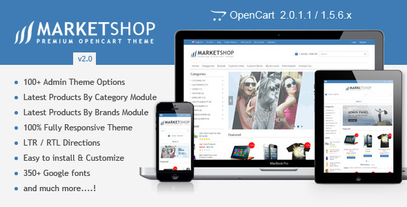 10 best free opencart 2. 0 themes for your future store.