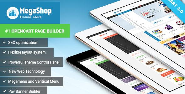 Download – Pav Megashop – Opencart 2.0 theme