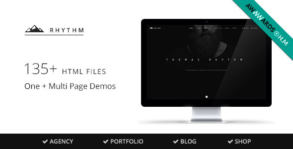 Rhythm v1.5.3 – Multipurpose One/Multi Page Template