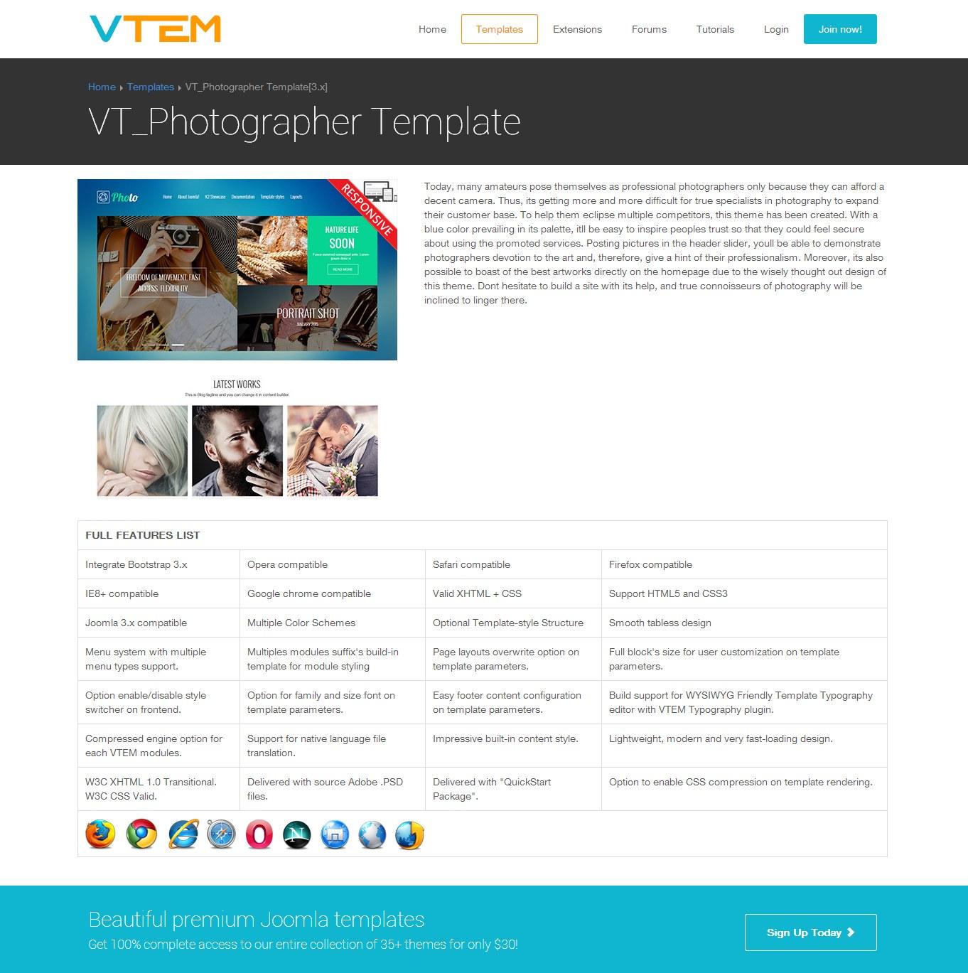 VT Dating - joomla template