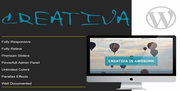 CREATIVA v1.0 – Responsive Parallax Onepage WordPress Template