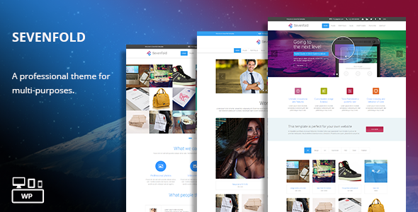 Sevenfold v1.2 – Multi-Purpose WordPress Theme