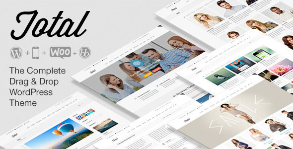 Total v2.0.1 – Responsive Multi-Purpose WordPress Theme