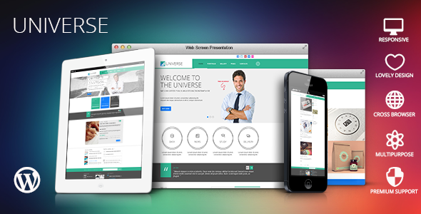 Universe v1.3.5 – Multi-Purpose WordPress Theme
