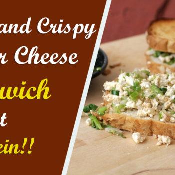 Paneer Cheese Sandwich